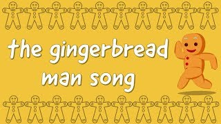 Gingerbread Man Song - 4K - Run, Run, I Am The Gingerbread Man