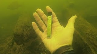 I Found a JUUL Underwater in the River While Scuba Diving! (River Treasure)