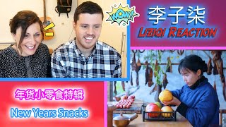 TASTY - Brits HUNGRY for her New Year Snacks | Liziqi Reaction - 老外怎么看李子柒 ?