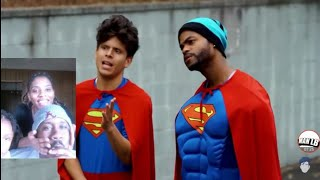 Racist Superman | Rudy Mancuso,  King Bach ; Lele pons !! REACTION VIDEO