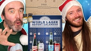 Irish People Try Alcohol Advent Calendars (All 24 Days in One Sitting!)