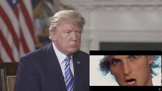 "Donald Trump Reacts to ""HERO"" by Logan Paul Ft. Zircon"