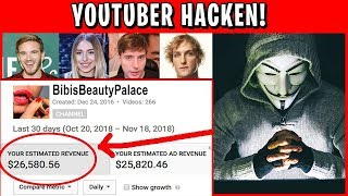 i hacked into youtuber accounts & reveal EVERYTHING
