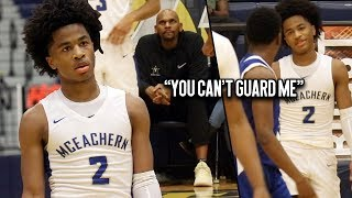 #1 PG Sharife Cooper Shows NBA Legend Jerry Stackhouse INSANE Flashy Passes & Drops 30 IN THE CLUTCH