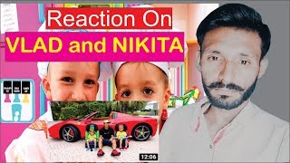 Reaction on Vlad and Nikita - funny stories about Cars for Kids video