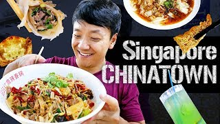 STREET FOOD FEAST at Singapore CHINATOWN!