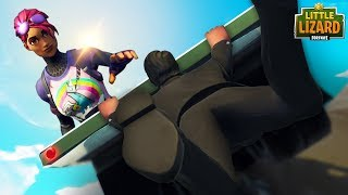 A GIRL SAVES JOHN WICK!! *RAPTOR FALLS IN LOVE*  Fortnite Short