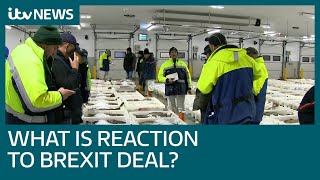 Business leaders react to post-Brexit trade deal | ITV News