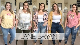 Lane Bryant Denim Haul 2019 | Sarah Rae Vargas
