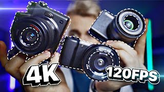 The BEST Budget Camera for Youtube and Streaming?? Sony a5100 v Canon m200 v Panasonic Lumix G7