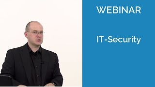 "Webinar ""IT Security"""