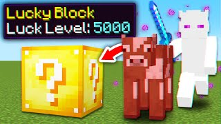 Minecraft, But Mobs Drop Lucky Blocks...