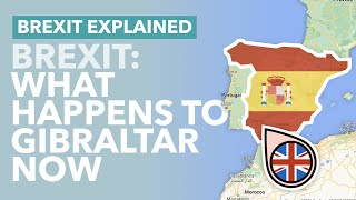 How Gibraltar Narrowly Avoided a Hard Brexit: What Happens to Gibraltar Now? - TLDR News