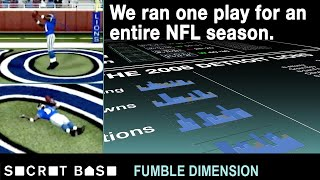 We made the winless Lions throw to only Calvin Johnson for the entire season | Fumble Dimension