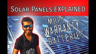 Solar panels explained in Hindi (Part-II) Technical