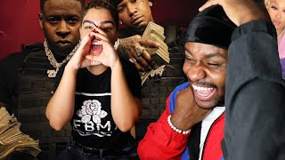 EMOTIONALLY SCARRED #CodeRed | Moneybagg Yo - Brain Dead (feat. Ari) (Official Audio) LYRIC REACTION