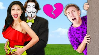 I Went to PROM to Reveal my Ex Boyfriend Hacker Crush at GKC School! Chad & Vy have a Date Dance