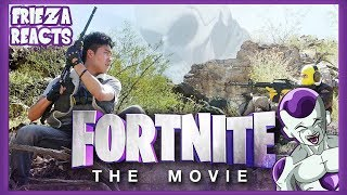FRIEZA REACTS TO FORTNITE THE MOVIE (OFFICIAL FAKE TRAILER)