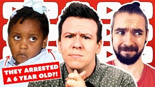 SERIOUSLY?! 6 Year Old Arrested, Youtube's Big Reversal, Messy Trump Biden Ukraine Scandal Explained