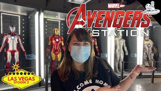 We Went To Avengers Station in Las Vegas Because Avengers Campus Isn't Open Yet!