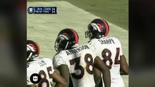 Shannon Sharpe Single Game Receiving Record For Tight Ends