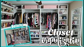 My HUGE Closet Re-Organization & Tour! | Sarah Rae Vargas