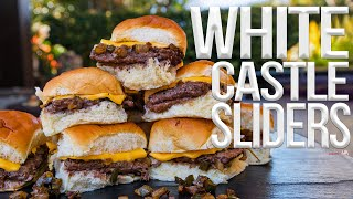 The Best White Castle Sliders Recipe | SAM THE COOKING GUY 4K