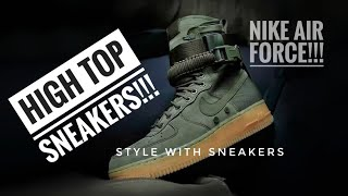 How to wear HIGH TOP SNEAKERS | 3 WAYS to style with them