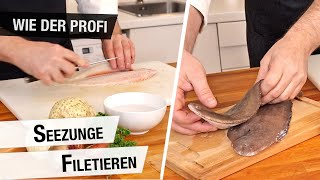Seezunge filetieren | Fisch