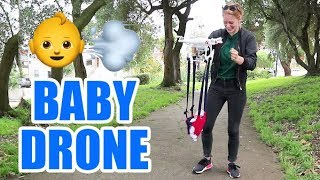 A drone that carries babies