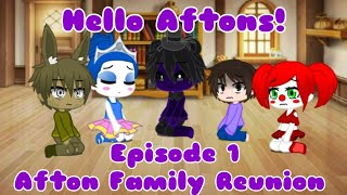 """Hello Aftons!"" 