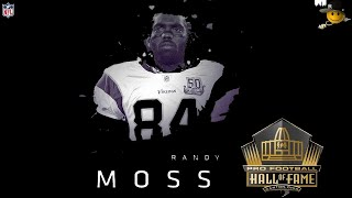 Randy Moss (First Ballot Hall Of Famer) NFL Legends