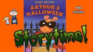 ARTHUR'S HALLOWEEN ~Halloween Stories ~ StoryTime ~  Bedtime Story ~ Read Aloud Books