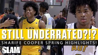 Sharife Cooper STILL UNDERRATED?!? 🤔 Full Spring Highlights!