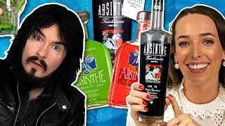 Irish People Try The World's Strongest Absinthe (80%, 160 Proof)