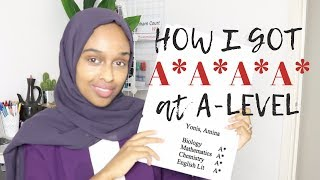 HOW I GOT A*A*A*A* AT A-LEVEL | REVISION TIPS & EXAM TECHNIQUES FOR A-LEVEL & 8/9s GCSE 2019