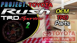 Project: Toyota Rush TRD Sportivo 2 – OEM TRD Parts in Detail
