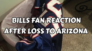 BILLS FAN REACTION After Loss to Arizona Cardinals (5 Stages of Grief)