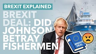 Did Johnson Betray the Fishing Industry: What the Brexit Deal Means for British Fish - TLDR News