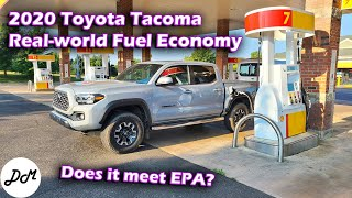 2020 Toyota Tacoma TRD Off-Road – Real-world Highway MPG Test