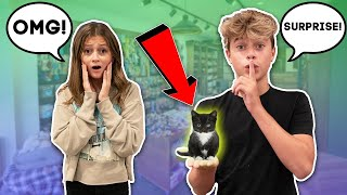 Surprising My Best Friend w/ A NEW PET **SHE CRIED**😭🐱 | Gavin Magnus