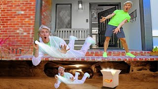 FOUND Secret Package Underneath Sharer Family House!! (Who Sent Top Secret Message?)