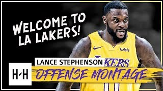 Lance Stephenson CRAZY Full Offense Highlights 2017-2018 NBA Season - Welcome to LA Lakers!