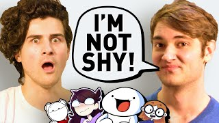 I spent a day with FAMOUS YOUTUBE ANIMATORS (TheOdd1sOut, Jaiden, SomethingElseYT & Illymation)