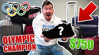 I Bought $1000 of Lost Luggage at an Auction and Found This.. (PRO ATHLETE'S SHOE COLLECTION!!)