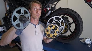 Motorcycle Gearing Changes Explained | MC Garage