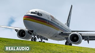 Boeing 737 Cannot Land Anywhere | All Engines Flameout [With Real Audio]