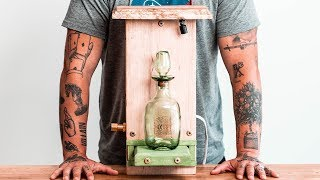 Solving The ONE-OF-A-KIND Whiskey Bottle Puzzle!!