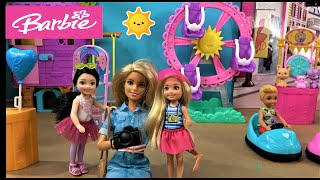 Barbie and Ken Story: Barbie Doing Makeover and Ken and Barbie Sister Chelsea Going to a Fun Fair
