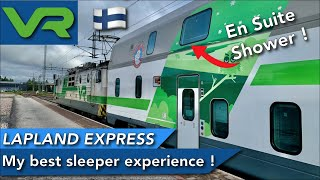 VR Lapland Express - An AMAZING Finnish experience to the Arctic circle by train